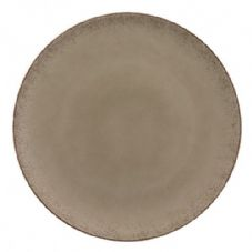 Bauscher Modern Rustic Flat Coupe Plate in Natural Wood